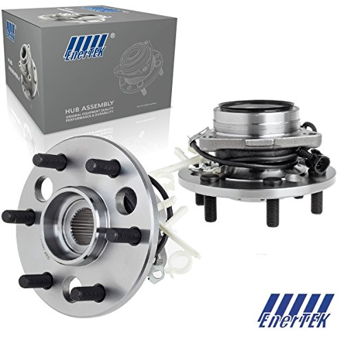 (2 Pcs Front Wheel Hub Bearing Assembly Compatible with Cadillac Escalade 1999-2000, Compatible with Chevy K1500/2500/ Tahoe 1995-2000, Compatible with GMC K1500/2500 Yukon 1995-2000)