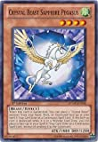 Yu-Gi-Oh! - Crystal Beast Sapphire Pegasus (RYMP-EN046) - Ra Yellow Mega-Pack - 1st Edition - Common