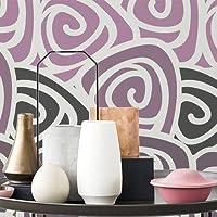 TODO-STENCIL Pared Geometrico 020 Floral. Tamaño pequeño 50x50