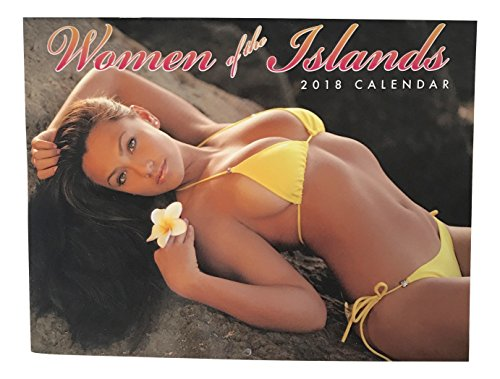 2018 Hawaiian Calendar 12 Month (Women of the Islands)