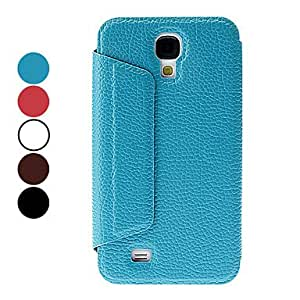 HP DFPU Leather Full Body Case for Samsung Galaxy S4 I9500 (Assorted Colors) , Red