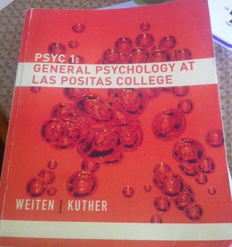 Psyc 1: General Psychology At Las Positas College