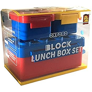 OXFORD Brick Lunch Box (Blue) OX-28  sc 1 st  Amazon.com & Amazon.com: LEGO Lunch Box Blue: Childrens Lunch Boxes: Kitchen ... Aboutintivar.Com