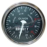 100575A New Tachometer Gauge made to fit White/Oliver Tractor Super 55 Super 66+