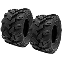 SET OF TWO (2) 18x9.5-8 Tires 4 Ply Lawn Mower Garden Tractor 18-9.50-8 Turf Grip Tread