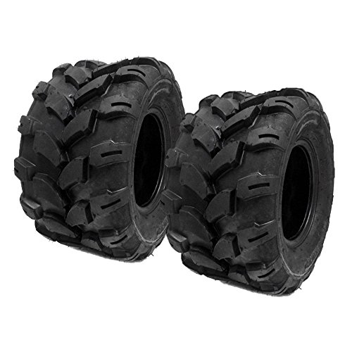(MMG Set of 2 18x9.5-8 Tires 4 Ply Lawn Mower Garden Tractor 18-9.50-8 Turf Grip Tread)