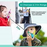 Obuby Walkie Talkies for Kids, 22 Channels 2 Way