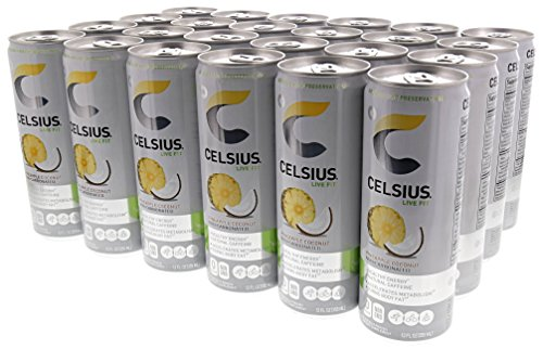 Celsius Non Carbonated Pineapple Accelerated Metabolism