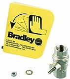 Bradley S45-122 2 Piece Ball Valve Plastic Handle Set