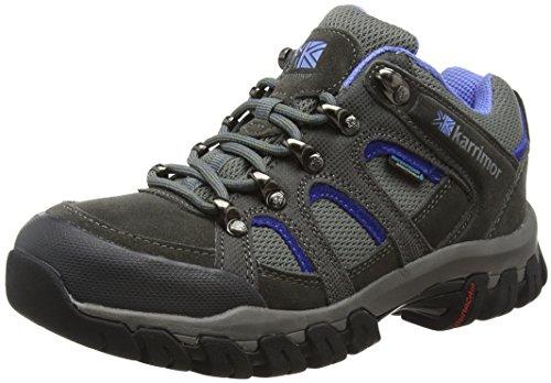 Karrimor Bodmin Iv Weathertite, Zapatos de Low Rise Senderismo para Mujer Gris (Gcb)