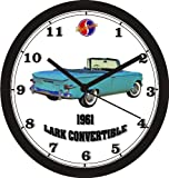 1961 STUDEBAKER LARK CONVERTIBLE WALL CLOCK-Free USA Ship
