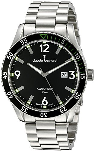 Claude Bernard Men's 53008 3NVM NV Aquarider Stainless Steel Watch