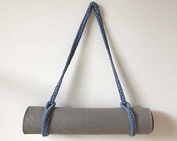 Yoga Mat Carrier, azul vaquero: Amazon.es: Deportes y aire libre