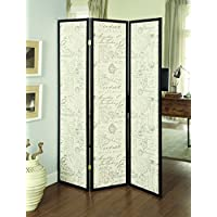 Coaster 900074 Home Furnishings Folding Screen, Espresso