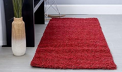 Super Area Rugs Cozy Plush Solid Shag Rug, 2'7