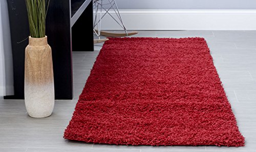 Super Area Rugs Cozy Plush Solid Shag Rug, 2'7