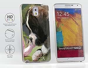 Funda Carcasa dura para Samsung Galaxy Note 3 (N9005) - Perro del boxeador