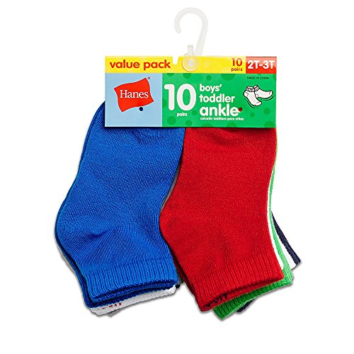 Hanes Boys Toddler Ankle Socks product image