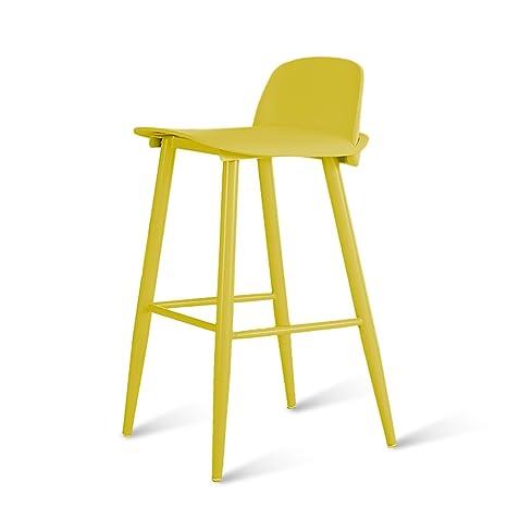 Taburete de Bar, Taburete de Bar de plástico, sillón de ...