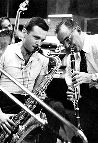 Benny Goodman w/Stan Getz Poster, Jazz Music