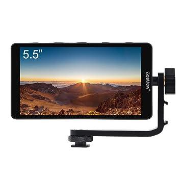 Fomito Destview S5 - Monitor de Campo 4K HDMI de 5,5 Pulgadas con ...