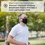 K&N Face Mask: Single Layer Polyester Mask for