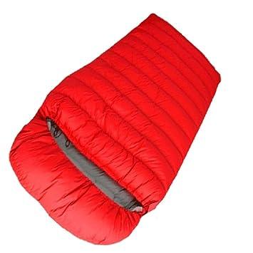 YYSD Abajo el Saco de Dormir Doble, el Viaje al Aire Libre Adulto Que acampa Programa el Saco de Dormir hidrófugo Impermeable Grueso de Las Estaciones: ...