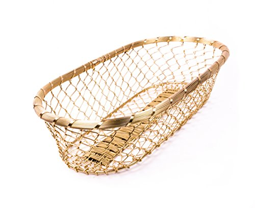 Gold Large Catch All Storage Basket product image