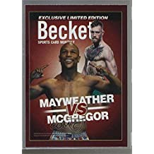 Floyd Mayweather Jr.; Conor McGregor (Trading Card) 2017 Beckett Covers  National Convention