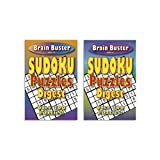 Digest Sudoku Puzzle Books for Kids and Adults