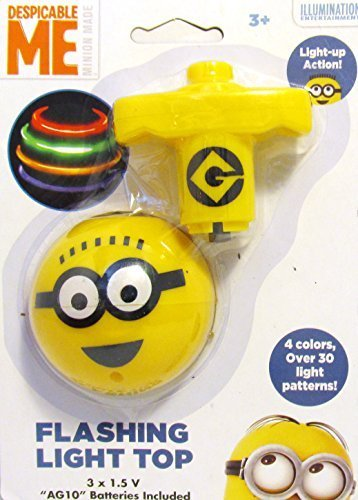 Despicable Me Minion Made Flashing Light Top (1 Pack)