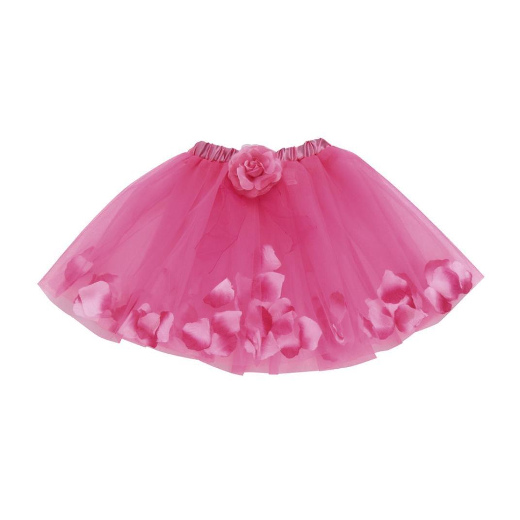 Oyedens Piccola Bambini Ragazze Principessa carino delle bambine bambini floreale tutu balletto gonne festa gonna Vestito Dancewear Danza Tuta Abiti