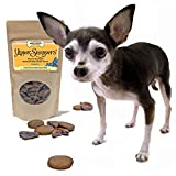 Yummy Yipper Snappers Blueberry Hypoallergenic Grain-Free Gourmet Dog Treats, 100% All Natural Premium Human Grade, Sourced and Made in USA, Baked Fresh, Low Calorie Treat With a Crunch to Clean Teeth