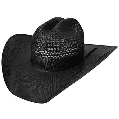Bailey Western Men's Desert Night Western Cowboy Hat, Black 7.125
