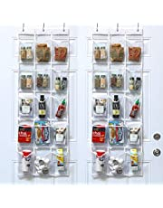 SimpleHouseware Over The Door Hanging Pantry Organizers Storage, (Pack of 2)