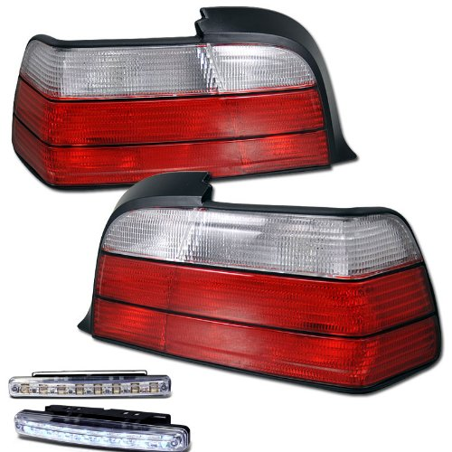 E36 Smoked Led Tail Lights in US - 3