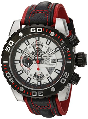 GV2-by-Gevril-Mens-1401-Polpo-Analog-Display-Swiss-Quartz-Black-Watch