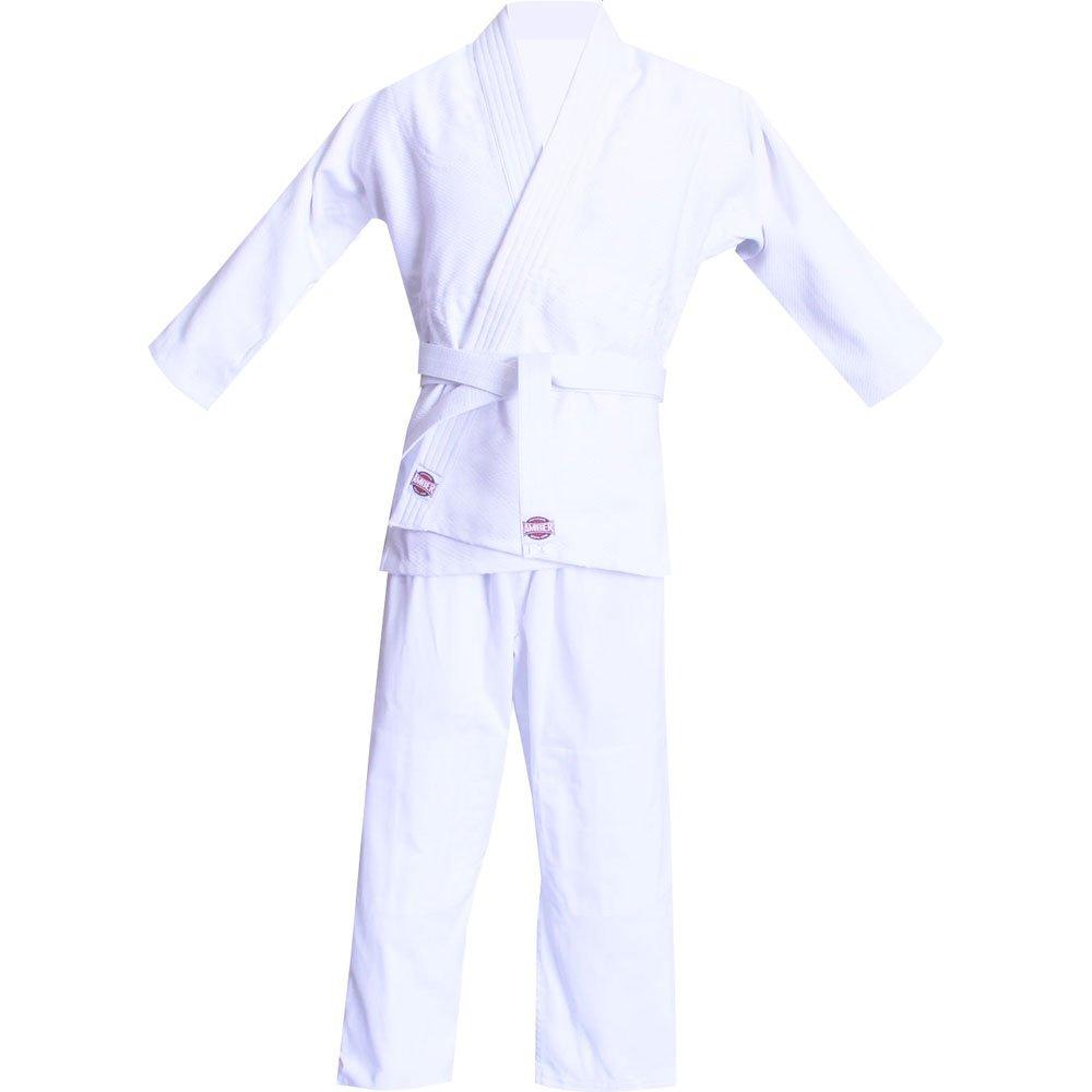 Amber Fight GearブラジルJui級GI 7 / a5スーツ、ホワイト、サイズ7