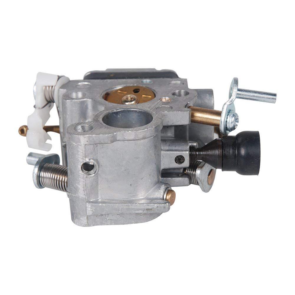 WANWU Carburador Carb Piezas de Repuesto para Husqvarna 135 140 140E 435 435E 440 440E CS2240 CS410 Sustituye a Zama C1T-EL41A 5064501.