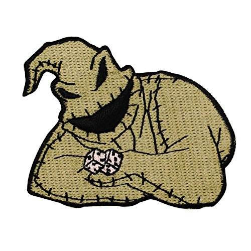 Oogie Boogie Nightmare Before Christmas Character Craft Iron On Applique Patch -