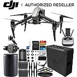DJI Inspire 2 Quadcopter Zenmuse X7 Camera 3-Axis Gimbal + DJI Zenmuse X7 DL-S 16mm F2.8 ND ASPH Lens Starters Bundle
