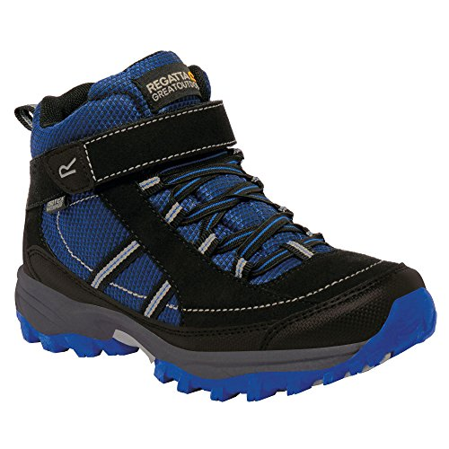 Regatta Great Outdoors Childrens/Kids Trailspace II Mid Walking Boots (US 3) (Jem/Black) by Regatta (Image #3)
