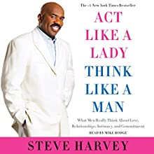 Act like a Lady, Think like a Man: What Men Really Think About Love, Relationships, Intimacy, and Commitment Audiobook by Steve Harvey Narrated by Mike Hodge