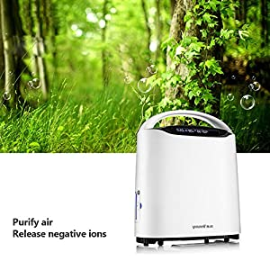 yuwell Air Purifier Portable Oxygen Concentrators - Adjustable Oxygen Concentrator Generators Home Oxygen Concentrator Oxygen Machine
