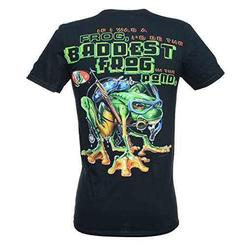 A O OUTFITTERS Amphibious Outfitters Baddest Frog Dive T-Shirt L Black