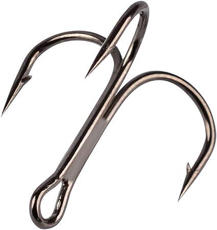 1-3//0# 2//3//4//6//8//10//12//14# Fishing Hook Sharpened Treble Hooks High-quality 100×