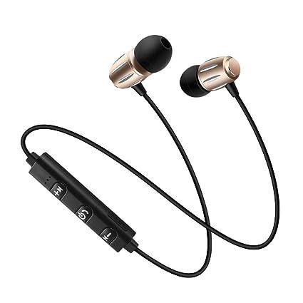 samLIKE Bluetooth Deporte Headset - Auriculares portátil de Nivel ...