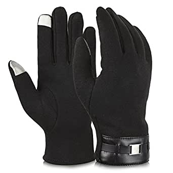 Vbiger Winter Gloves Texting Gloves Touch Screen Mittens