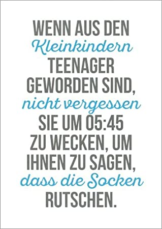 teenager sprüche Postkarte Sprüche & Humor