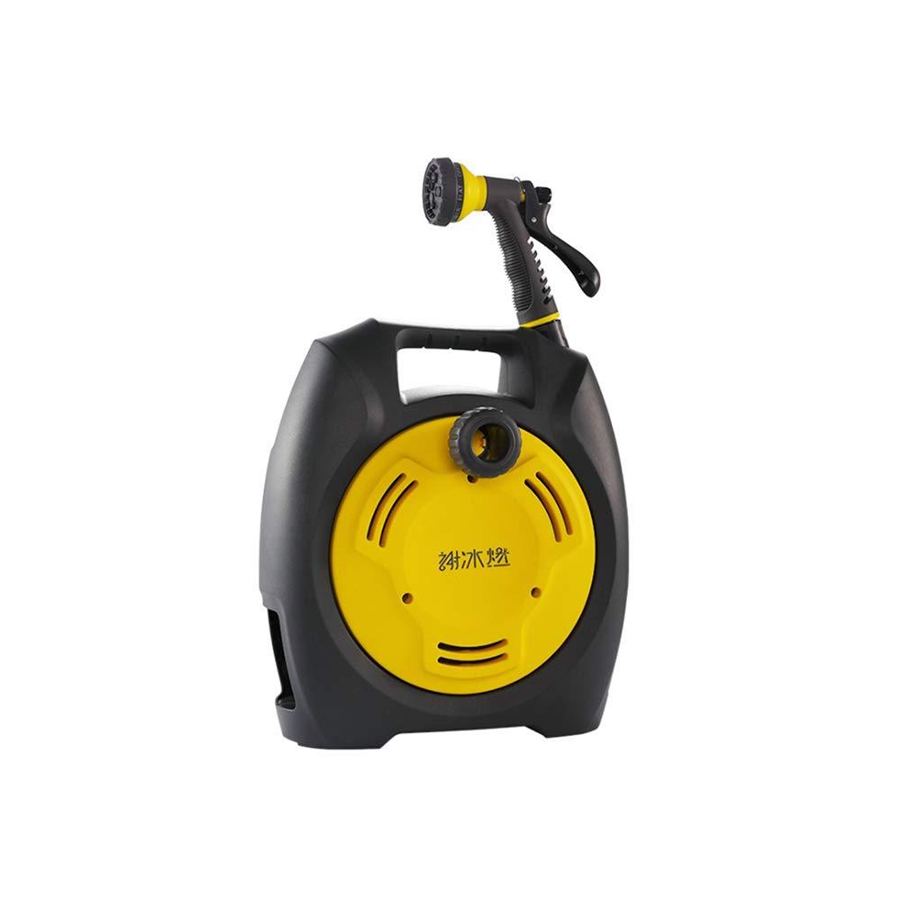 13.5M Garden Water Hose Reel Retractable Reel Hose Storage Spray Tool Universal Car Washer Flexible Garden Air Hose (YELLOW) by Expressus